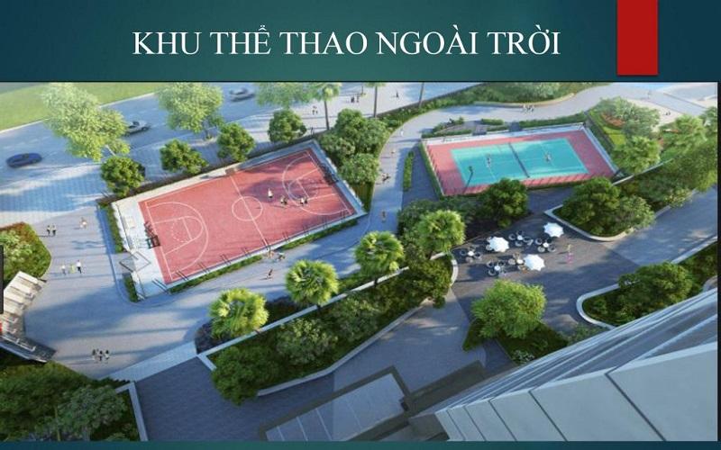 Khu thể thao dự án Emerald Bay Hoành Bồ - Hạ Long