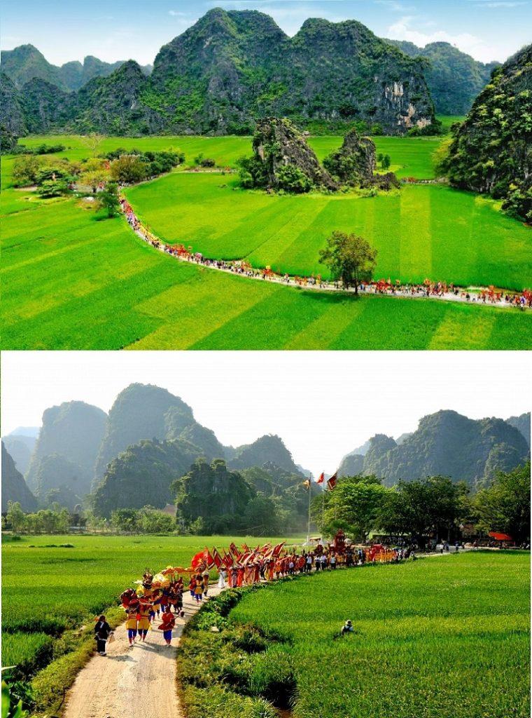 Lễ hội Đền Thái Vi Ninh Bình (Life Resort Ninh Hải)