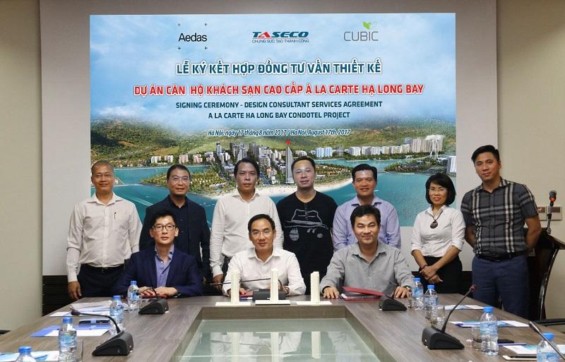 Lễ ký kết dự án A La Carte Hạ Long Quảng Ninh