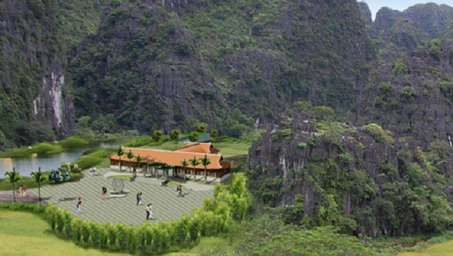 Phối cảnh lễ tân dự án Life Resort Ninh Bình