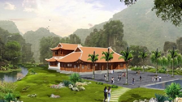 Phối cảnh nhà hàng dự án Life Resort Ninh Bình