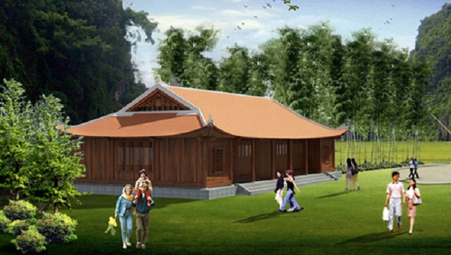 Phối cảnh phòng họp dự án Life Resort Ninh Bình