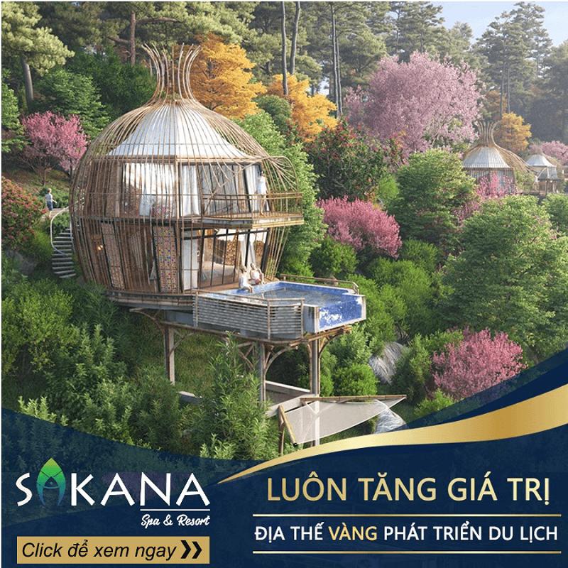 Dự án Sakana Spa & Resort Hòa Bình