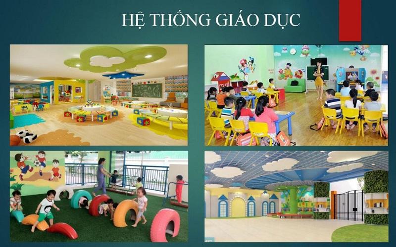 Trường học ở dự án Emerald Bay Hoành Bồ - Hạ Long