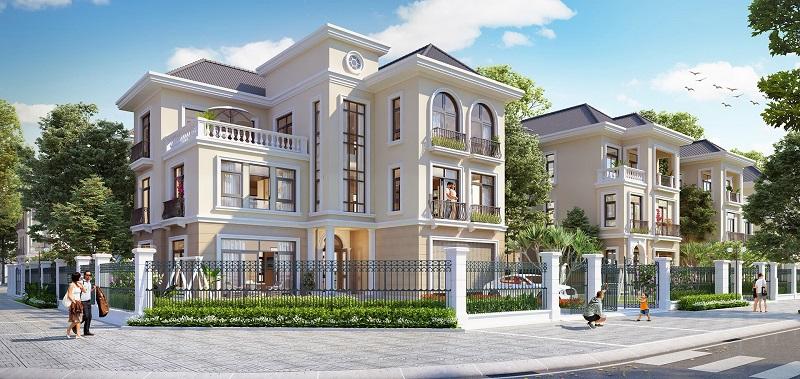 Biệt thự dự án khu đô thị Hoàng Gia Việt Mỹ Tuyên Quang