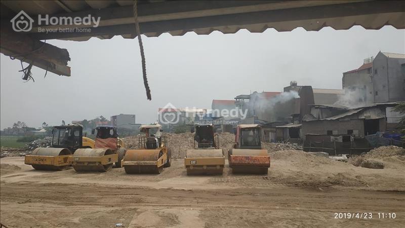 Công trường 2 dự án đất nền làng nghề Mẫn Xá - Bắc Ninh