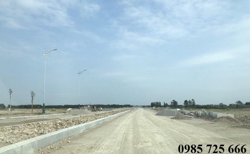 Công trường 3 dự án đất nền Làng Nghề Mẫn Xá - Bắc Ninh