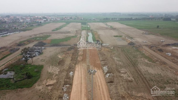 Công trường 4 dự án đất nền làng nghề Mẫn Xá - Bắc Ninh