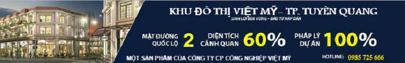Dự án khu đô thị Hoàng Gia Việt Mỹ Tuyên Quang
