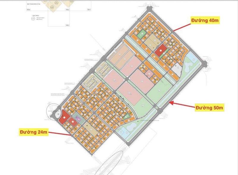 Hạ tầng giao thông dự án Vinhomes Wonder Park Đan Phương
