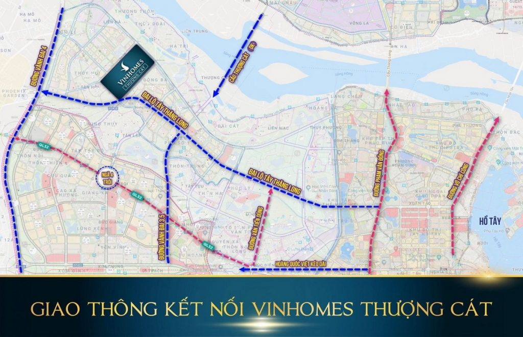 Kết nối dự án Vinhomes Wonder Park Đan Phượng