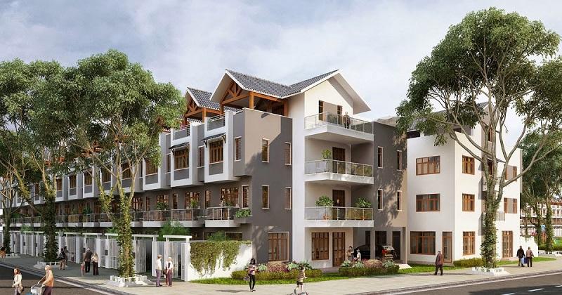 Liền kề dự án khu đô thị Hoàng Gia Việt Mỹ Tuyên Quang