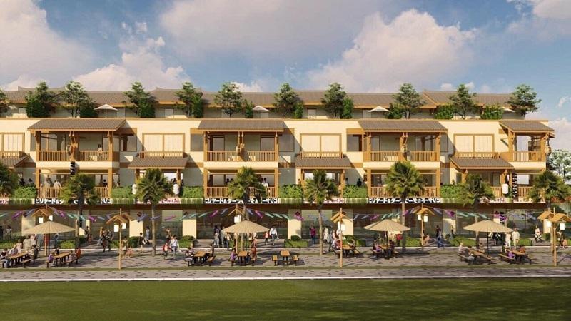 Phối cảnh 2 dự án Shophouse Wyndham Thanh Thủy - Phú Thọ