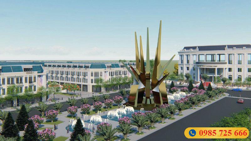 Phối cảnh 3 dự án khu đô thị Hoàng Gia Việt Mỹ Tuyên Quang