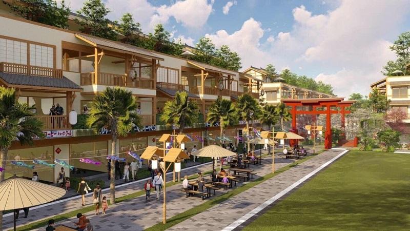 Phối cảnh 3 dự án Shophouse Wyndham Thanh Thủy - Phú Thọ