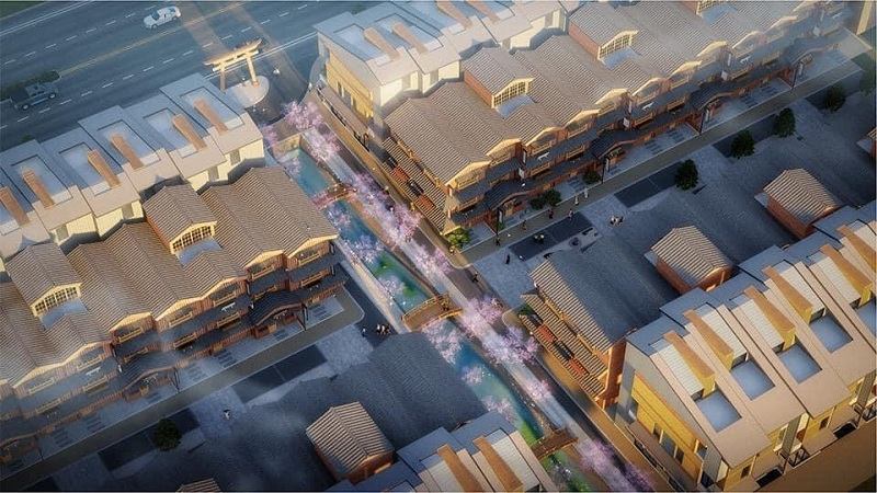 Phối cảnh 4 dự án Shophouse Wyndham Thanh Thủy - Phú Thọ
