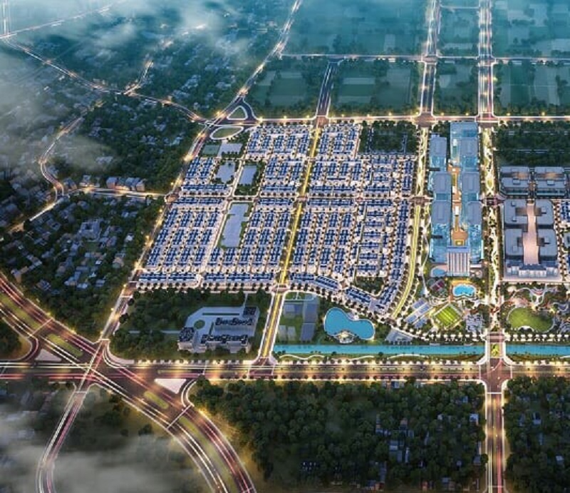 Phối cảnh dự án Vinhomes Wonder Park Đan Phượng