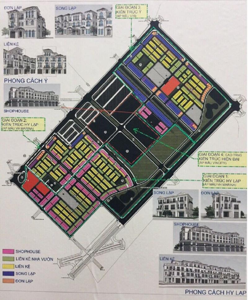 Quy hoạch dự án Vinhomes Wonder Park Đan Phượng