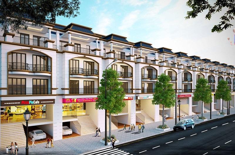 Shophouse dự án khu đô thị Hoàng Gia Việt Mỹ Tuyên Quang