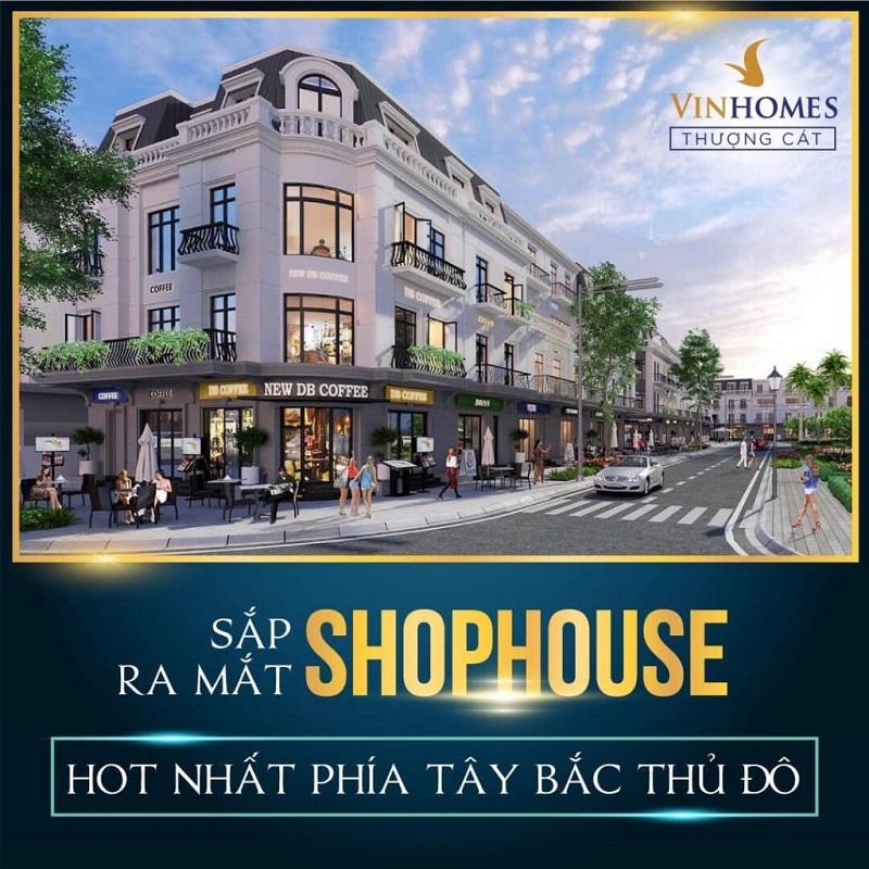 Shophouse dự án Vinhomes Wonder Park Đan Phượng