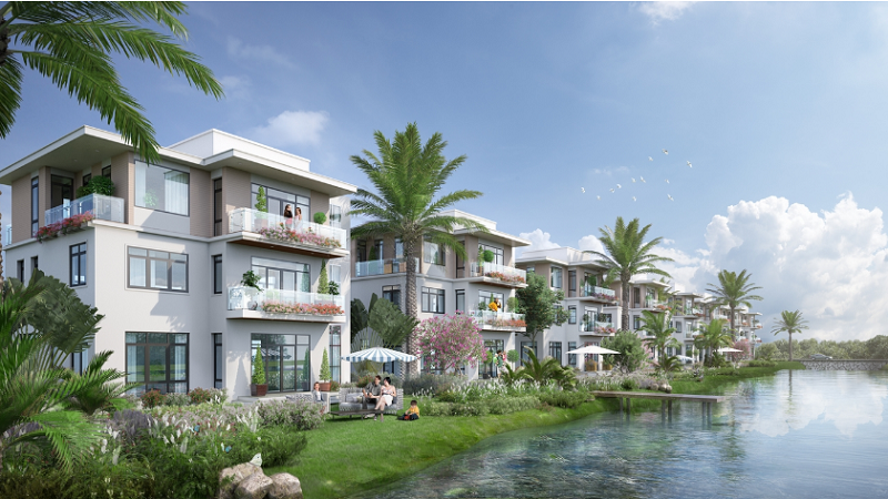 Tiện ích 2 dự án khu đô thị Hoàng Gia Việt Mỹ Tuyên Quang