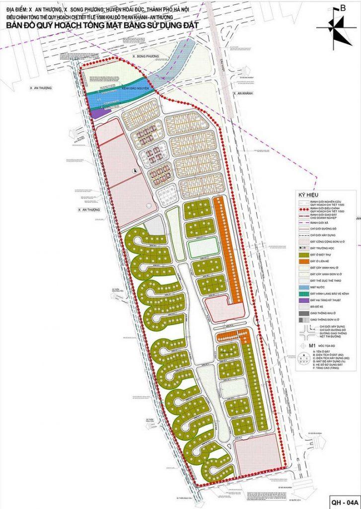 1/500 dự án Hà Đô Charm Villas Hoài Đức