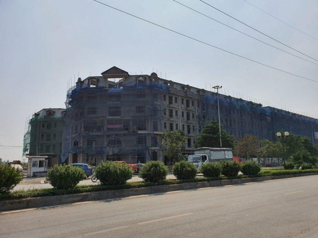 Ảnh thực tế 4 dự án liền kề shophouse Kiến Hưng Luxury Hà Đông