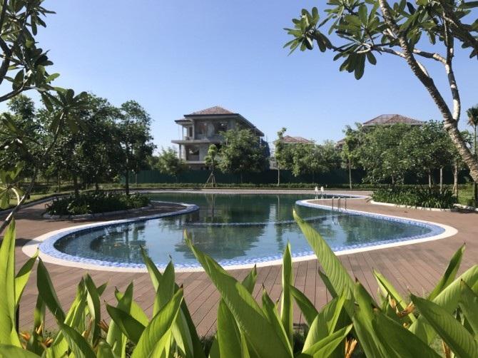 Bể bơi dự án Hà Đô Charm Villas Hoài Đức