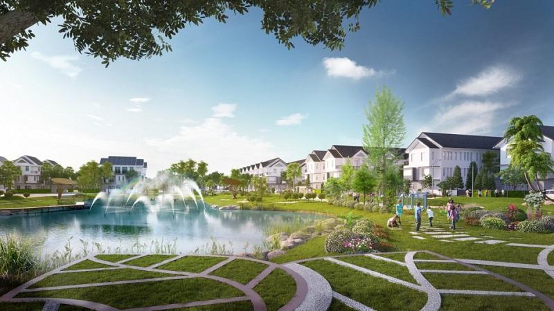 Biệt thự dự án Hanaka Paris City Từ Sơn - Bắc Ninh