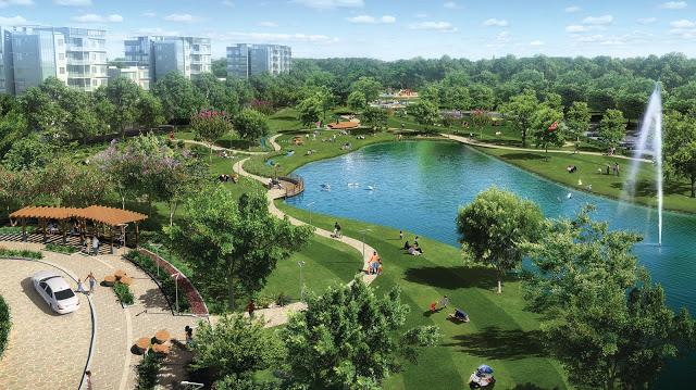 Công viên dự án Louis City Tân Mai Hoàng Mai