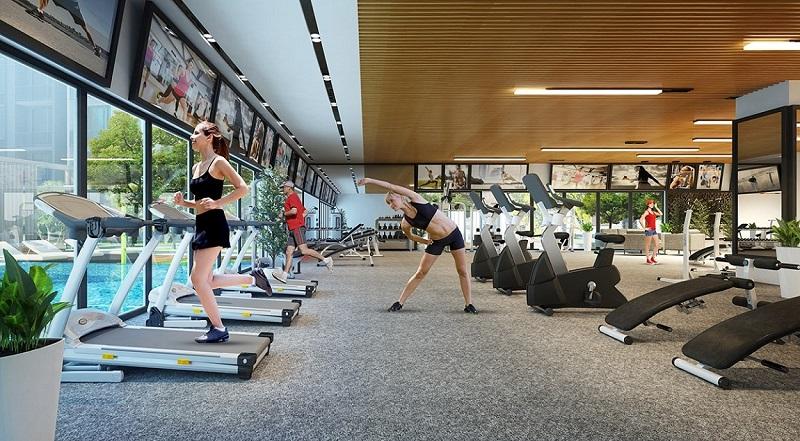Gym Spa dự án Hà Đô Charm Villas Hoài Đức