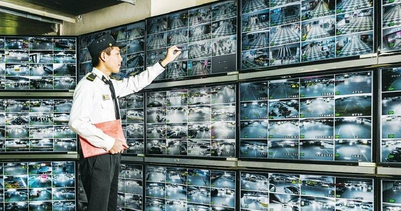 Hệ thống an ninh dự án Hà Đô Charm Villas Hoài Đức