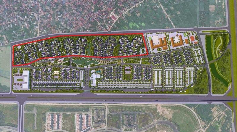 Khu biệt thự dự án Hà Đô Charm Villas Hoài Đức