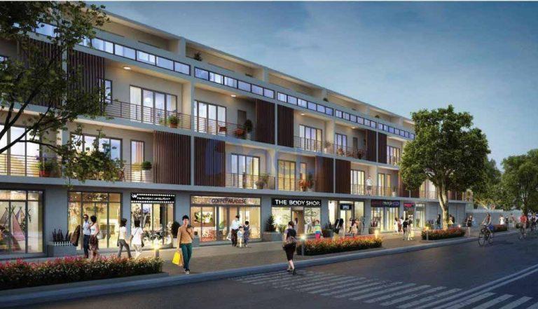 Liền kề dự án Hanaka Paris City Từ Sơn - Bắc Ninh
