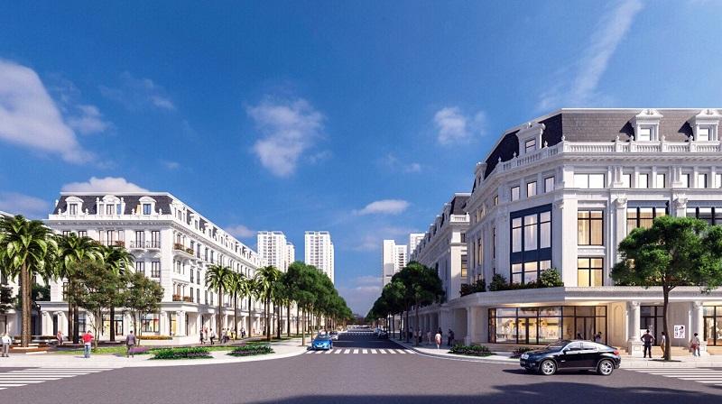 Nhà phố dự án Louis City Tân Mai Hoàng Mai