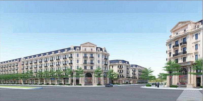 Phối cảnh 2 dự án liền kề shophouse Kiến Hưng Luxury Hà Đông