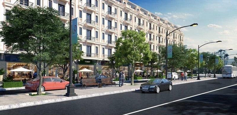 Phối cảnh 4 dự án liền kề shophouse Kiến Hưng Luxury Hà Đông