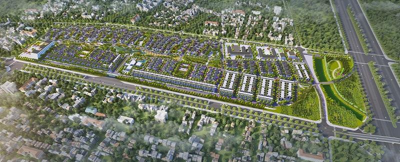 Phối cảnh dự án Hà Đô Charm Villas Hoài Đức