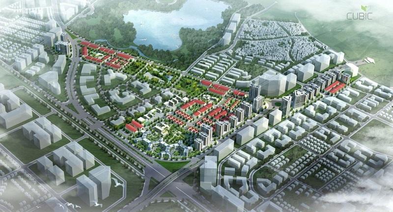 Quy hoạch khu đô thị Kiến Hưng Luxury Hà Đông