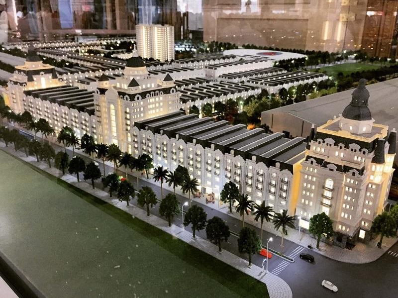 Mô hình sa bàn dự án Hanaka Paris City Từ Sơn - Bắc Ninh
