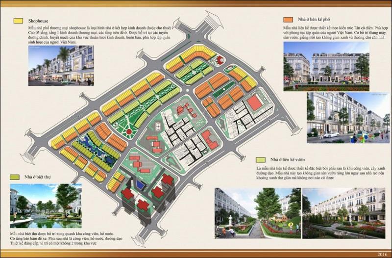 Sản phẩm dự án Louis City Tân Mai Hoàng Mai