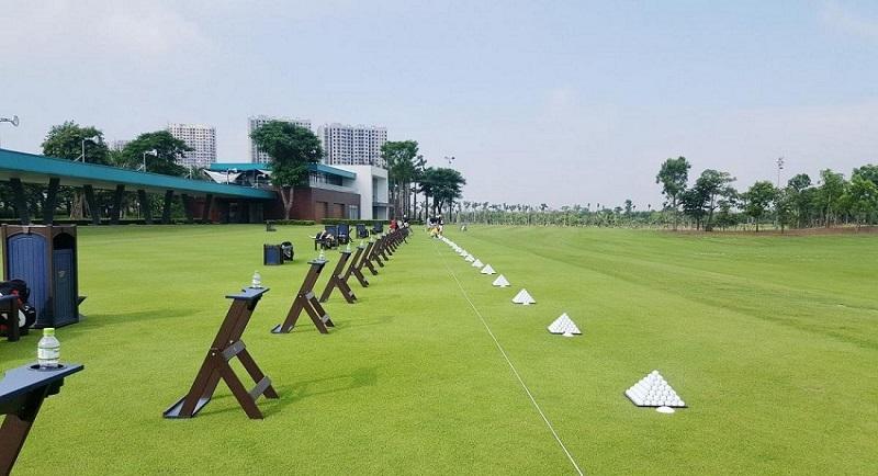 Sân tập Golf dự án Hà Đô Charm Villas Hoài Đức