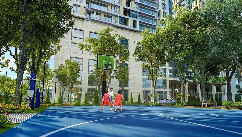 Sân thể thao dự án Hà Đô Charm Villas Hoài Đức