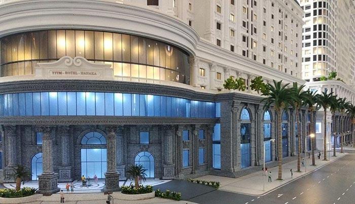 Sảnh khách sạn dự án Hanaka Paris City Từ Sơn - Bắc Ninh