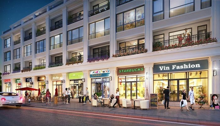 Shophouse dự án Hanaka Paris City Từ Sơn - Bắc Ninh