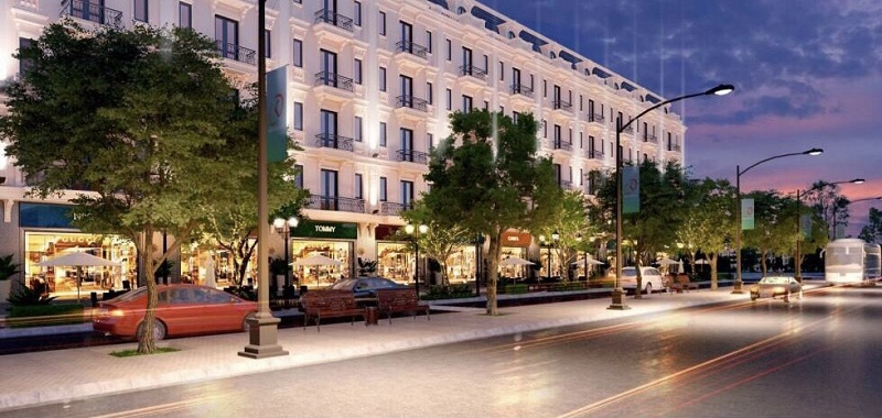 Shophouse dự án Kiến Hưng Luxury Hà Đông