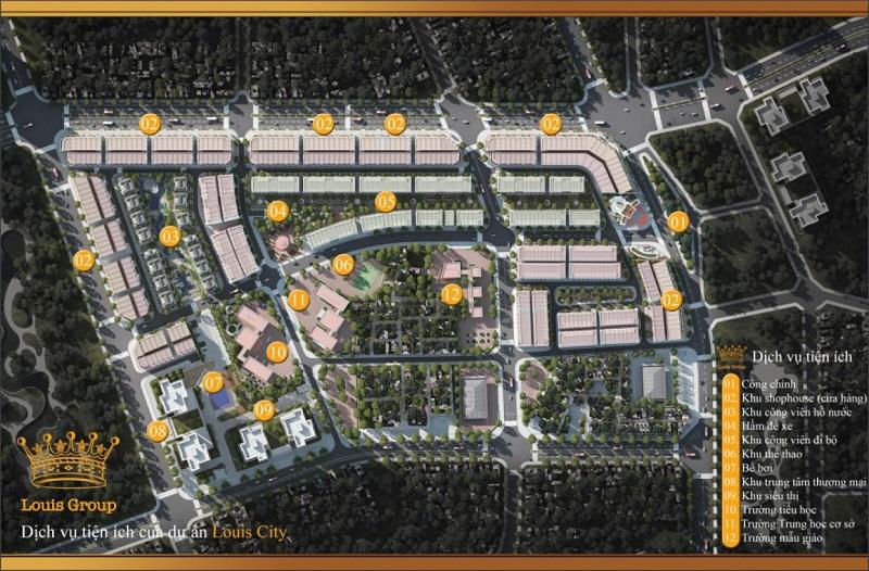 Tiện ích dự án Louis City Tân Mai Hoàng Mai