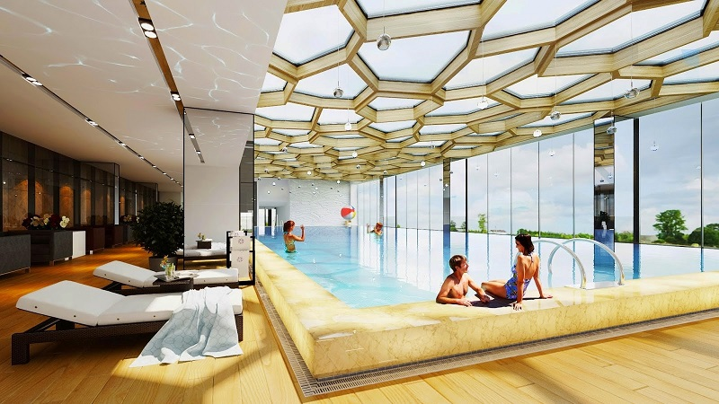 Bể bơi chung cư Tràng An Home - 149 Trường Chinh