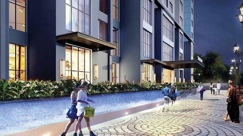 Đường dạo bộ chung cư Tràng An Home - 149 Trường Chinh