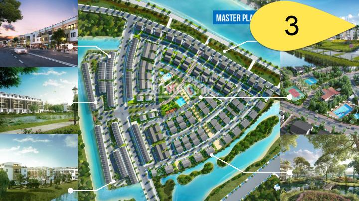 Giai đoạn 3 - Park River biệt thự nhà phố khu đô thị Ecopark